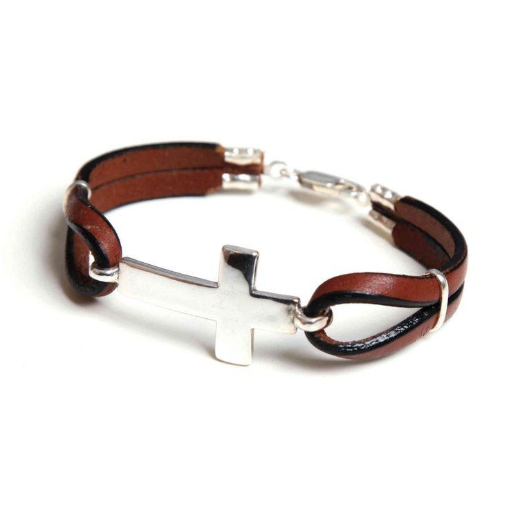 Leather Belts, Leather Jewelry, Bracelets For Men, Handmade Bracelets, Barbie, Bracelet Designs, Sterling Silver Jewelry, Jewelry Accessories, Jewelry Making