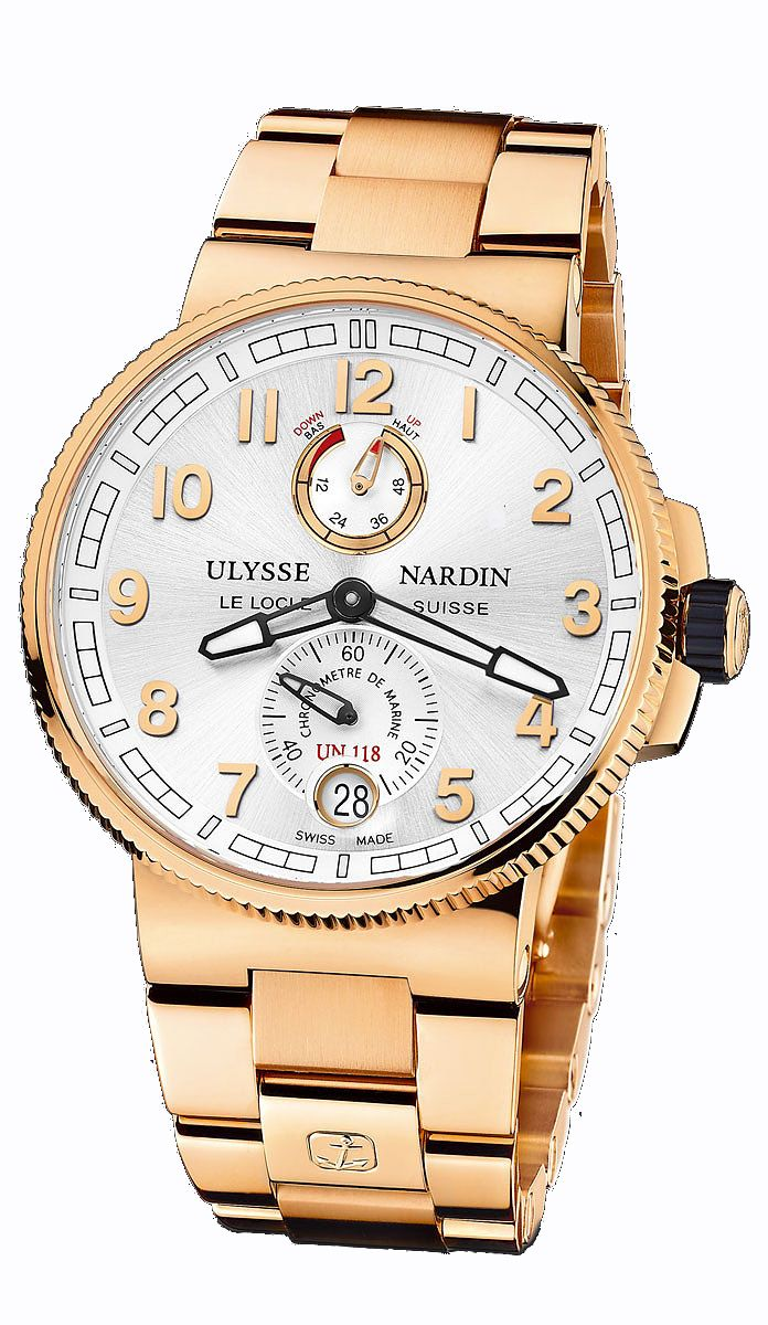 Ulysse Nardin - Marine Chronometer Manufacture   1186-126-8M_61