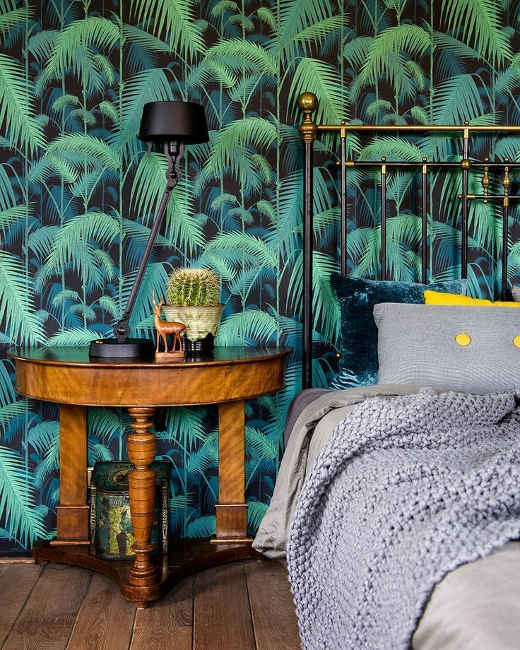 Cole & Son Palm Jungle Wallpaper - Tropical Leaves -Iconic Brand- Dark Green in Home & Garden, Building Materials & DIY, Wallpaper & Accessories | eBay