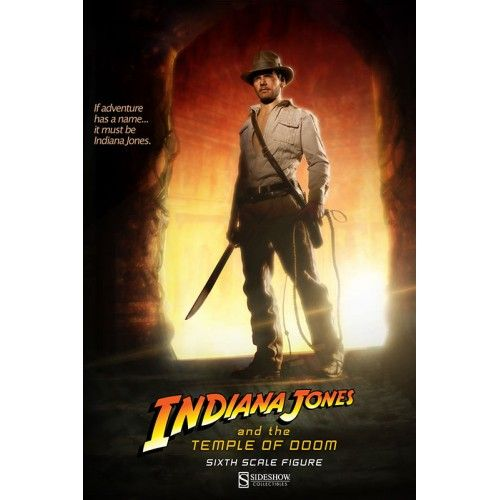 Sideshow Collectibles Indiana Jones Temple of Doom 1/6 Scale Figure Sideshow Collectibles Indiana Jones Temple of Doom 1/6 Scale Figure...