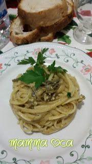 il cuore della casa: la cucina: LINGUINE AI CARCIOFI E PISTACCHI