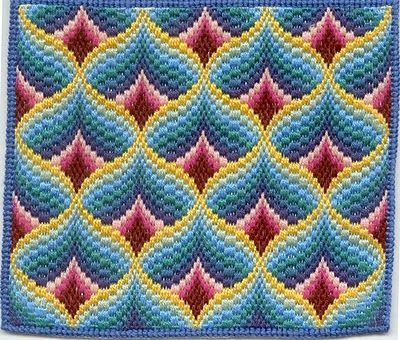 Tony's Sewing Blog: Bargello and cross stitch