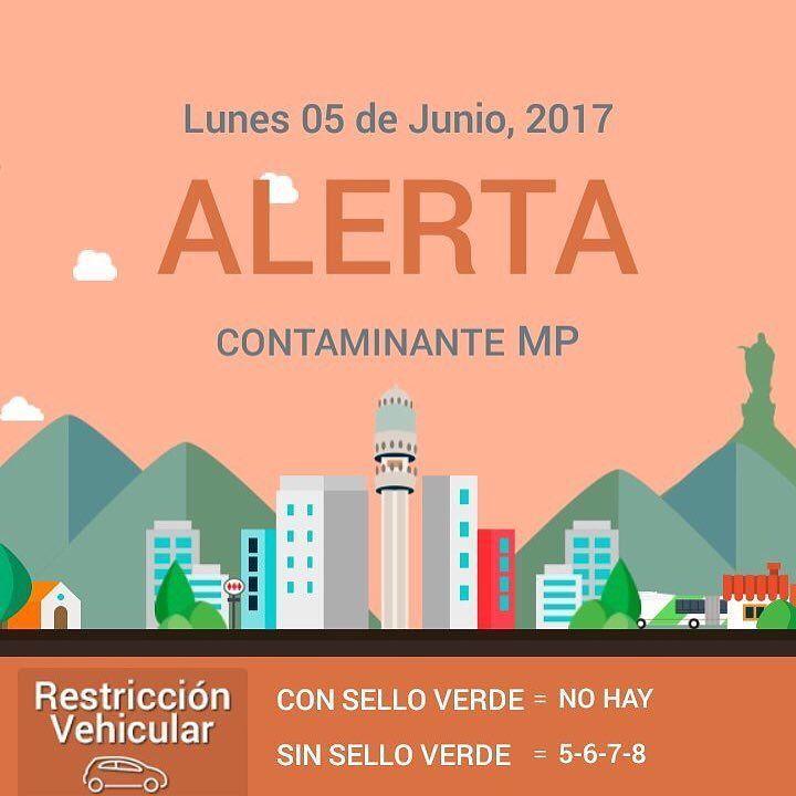 Atención: Lunes 05/06 hay Alerta Ambiental en Santiago respeta la prohibición total de uso de calefactores a leña y las quemas agrícolas
