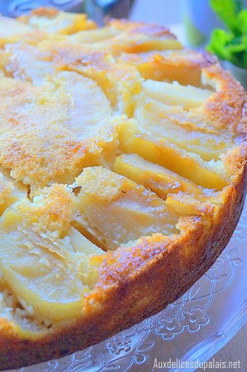 Gâteau au yaourt & aux pommes ultra moelleux