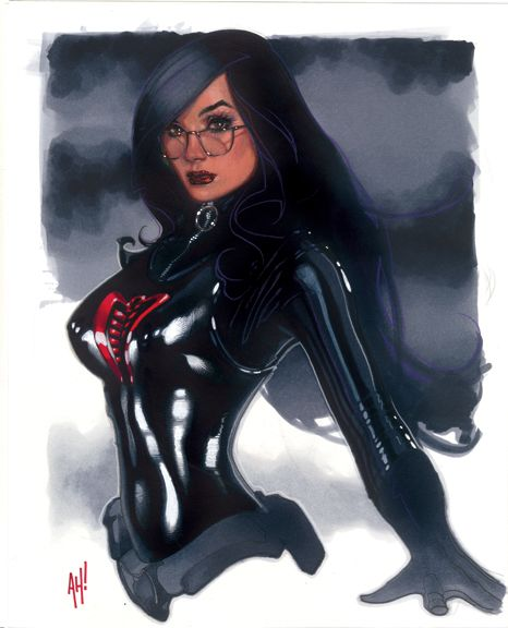 The Baroness by AdamHughes.deviantart.com on @deviantART ~ is it the glasses?