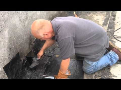 Video How To Lower A Scupper And Repair A Flat Roof