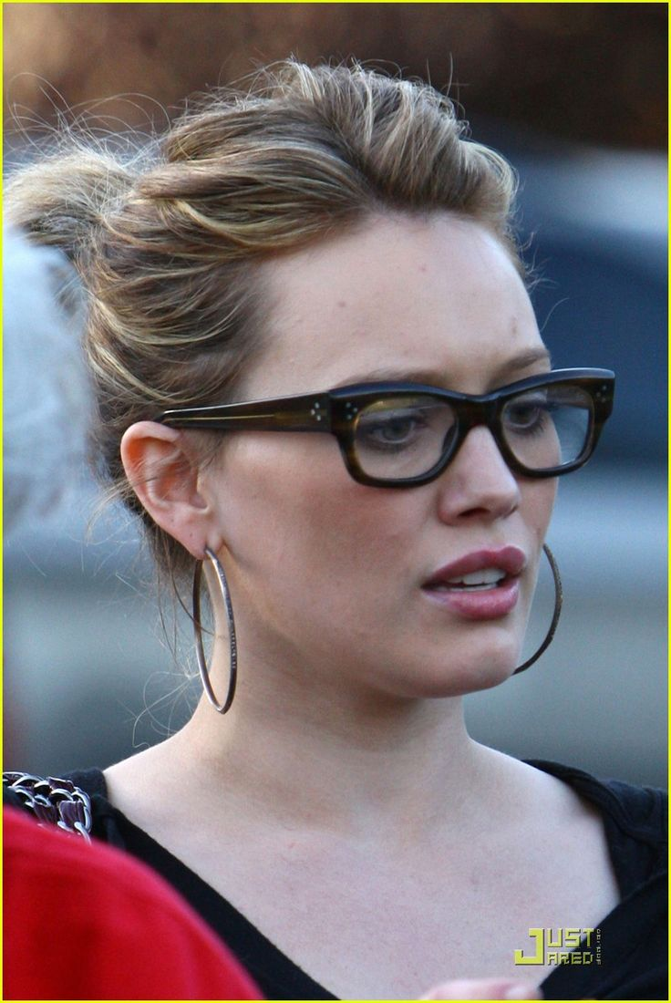 198 best Framed images on Pinterest | Glasses, Eye glasses ... Hilary Duff Eyeglasses