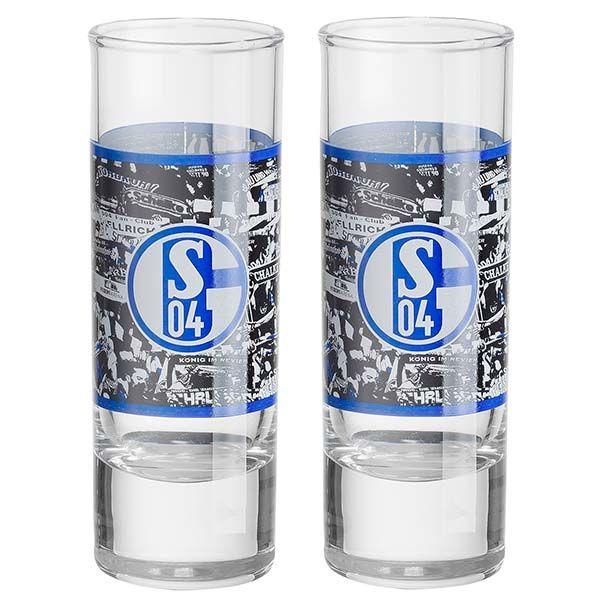 Mit diesen FC Schalke 04 Schnapsgläsern kann die nächste FC Schalke 04 Party steigen. Mehr Infos unter http://www.fussball-fanshop-24.de