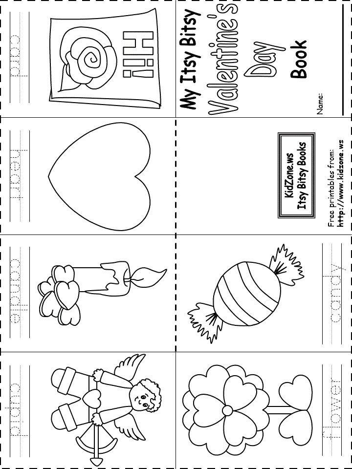 This is a picture of Influential Printable Kids Booklets