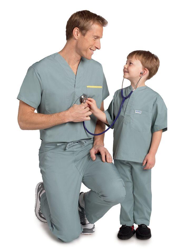 Mens Reversible Scrub Set | Nurse Wear | Dixie Uniforms Canada
