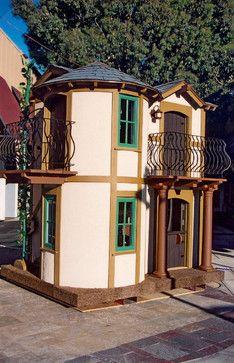 Charity playhouses - Dreams Happen Playhouses mediterranean-kids