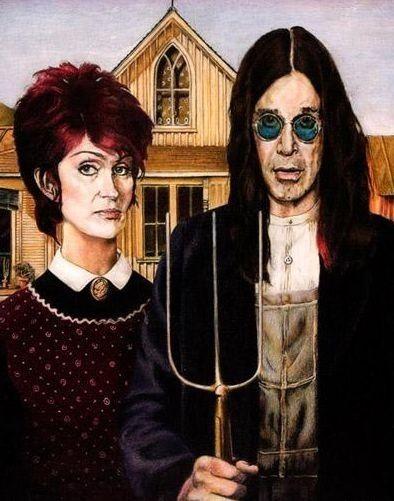 Ozzy Osbourne and SHARON!!!
