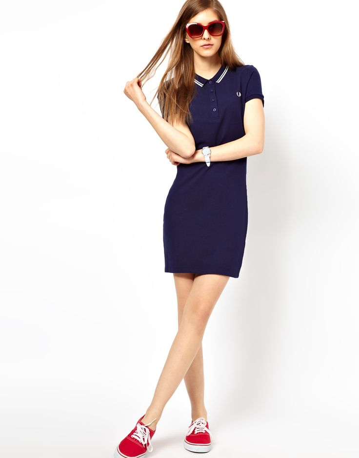 Fred perry red dress versace