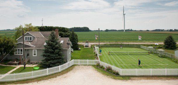 Irgendwo in Iowa: Großes Tennis