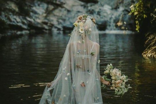amazing wedding veil