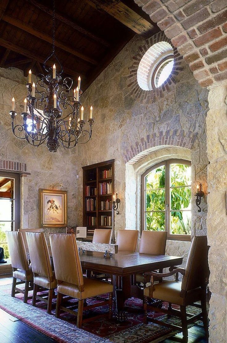 Rustic Italian Tuscan Style for Interior Decorations 23 in ...