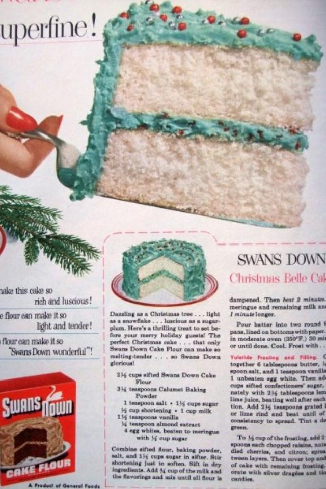 Christmas Belle Cake