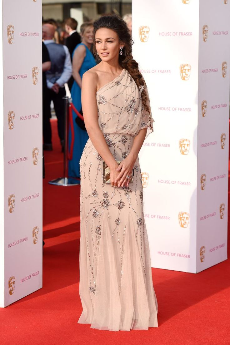 Michelle Keegan goes for full-on glamour on the TV BAFTAs red carpet