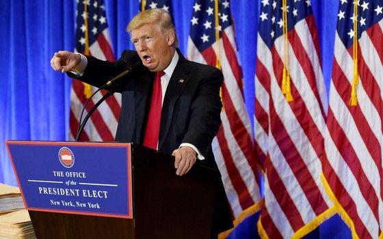 O presidente dos Estados Unidos, Donald Trump (Foto: Timothy A. Clary/AFP)
