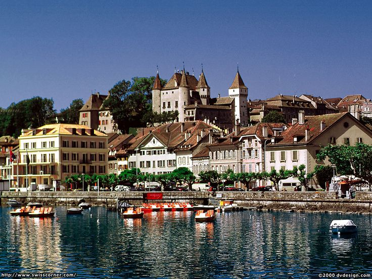 the city of Nyon in Switzerland