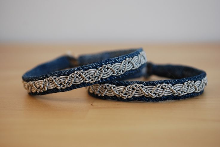 vegetarian lappland bracelets with jeans made by Passion for Sapmi