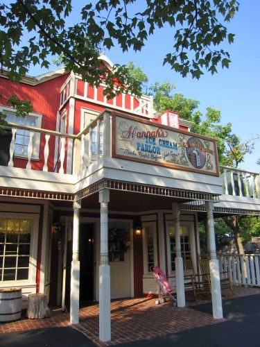 Silver Dollar City - Branson, MO.  I was there in 1965.Rick and I went in 2007.
