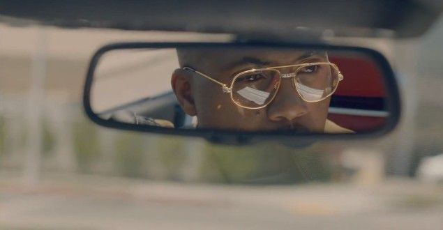 nas gold frame glasses nicki minaj right by my side music video husband nas pinterest hip hop videos and music videos