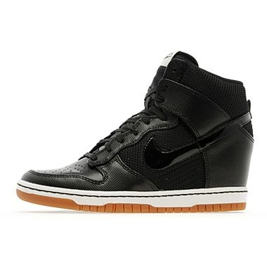 Nike Sky High Dunk Trainers In Black and Sail..my favorite shoe right now..very comfortable & stylish!!!