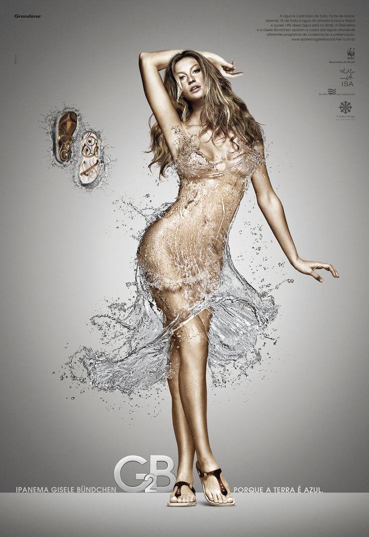 Ipanema Gisele Bundchen G2B Sandals - Splash, 1