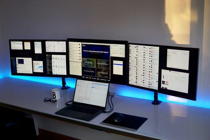 Après la V1 puis la V2 de mon setup, le voilà qui change encore avec l'arrivée du MacBook Pro 2016. Je vous présente donc la V3, à base de MacBook Pro 15 pouces, et d'écrans 27 pouces.…