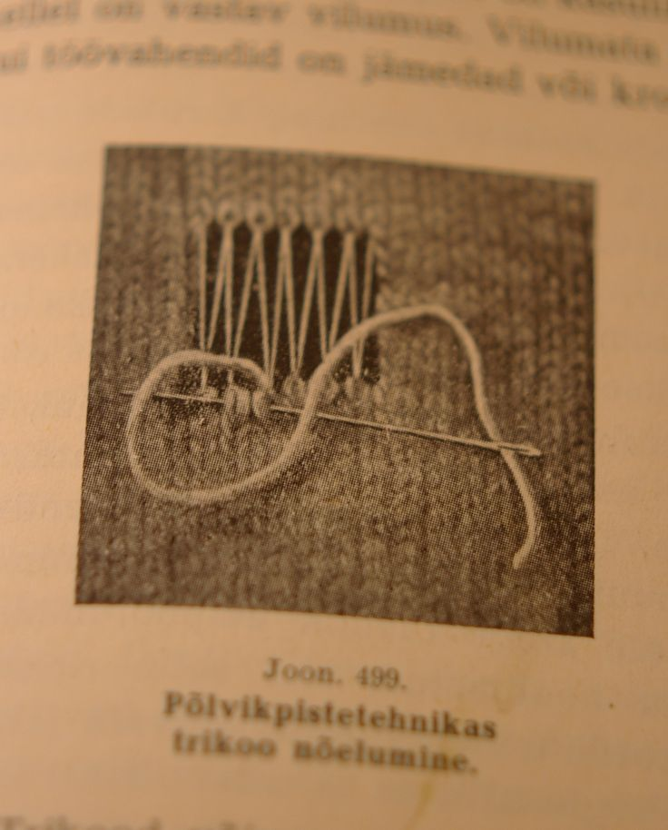 Beautiful Estonian darning techniques for both knitting and weaving from Tom of Holland.