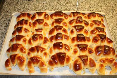 Light croissants - medialunas light para máquina de pan ♥