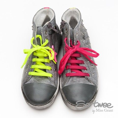 SO TWEE by #missgrant GREY HIGH-TOP SNEAKER. Sale 50% off Spring&Summer Collection! #discount