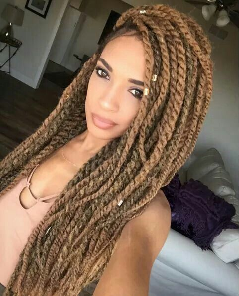Beautiful Marley Twists, See How to Wash Your Hair With Marley Twists Here: http://www.naturalhairmag.com/washing-your-hair-with-marley-twists/ IG:@niaknowshair  #naturalhairmag