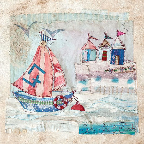 Sail away with mixed-media tutorials and tips divulged by talented artists in the brand-new Somerset Apprentice!