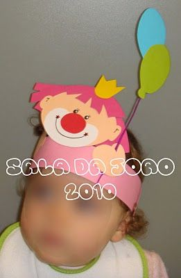 Verjaardagskroon: clown