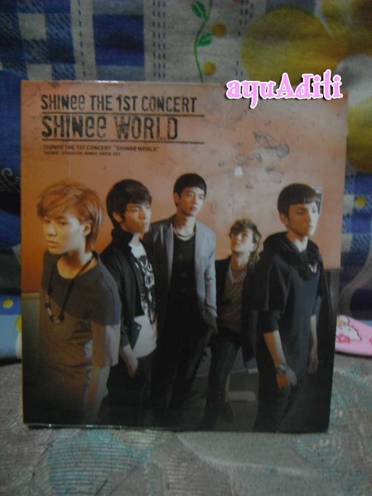 [album] SHINee The 1st Concert SHINee World