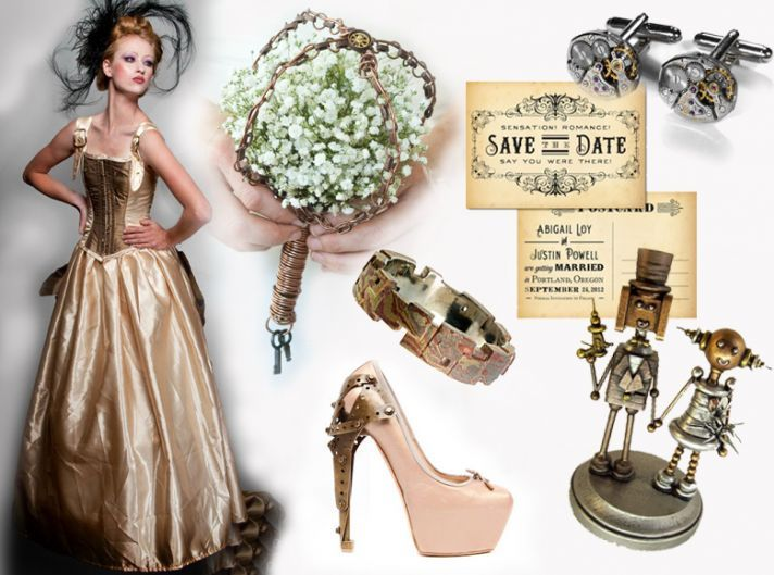 Steampunk Wedding Bouquets | vintage-wedding-themes-sci-fi-steampunk-offbeat-wedding-ideas__full ...