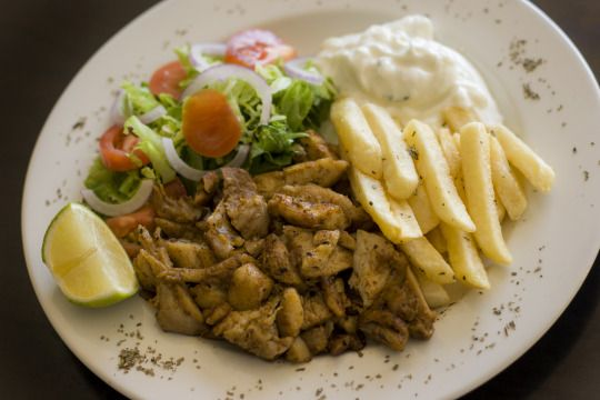Chicken platter by GirosEatGreek