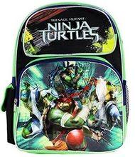 Teeenage Mutant Ninja Turtles Movie Toddler Small Black/Green Cloth Backpack