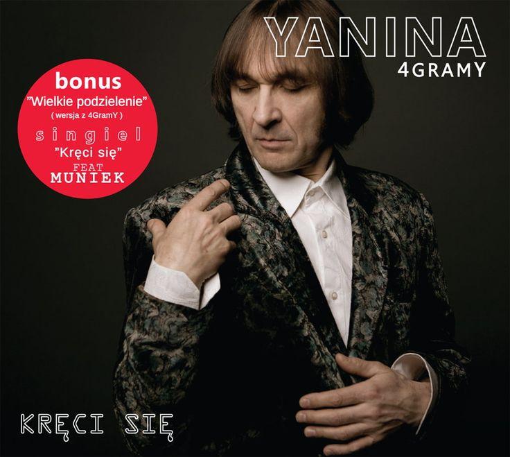 """Janusz Yanina Iwański jakiś czas trzymał fanów w stanie niedosytu, ale dziś wraca z nowym, rockowym, niesamowicie przebojowym albumem """"Kręci się""""."""