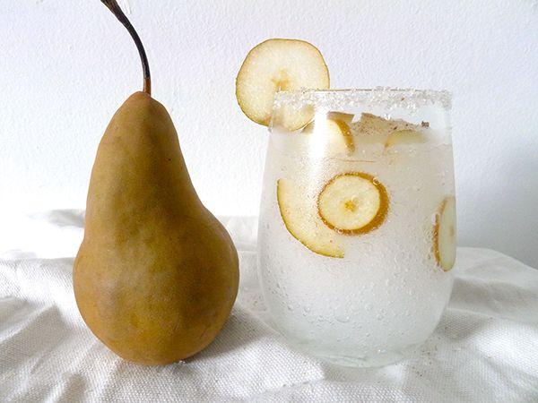 Pear Vanilla Cocktail//