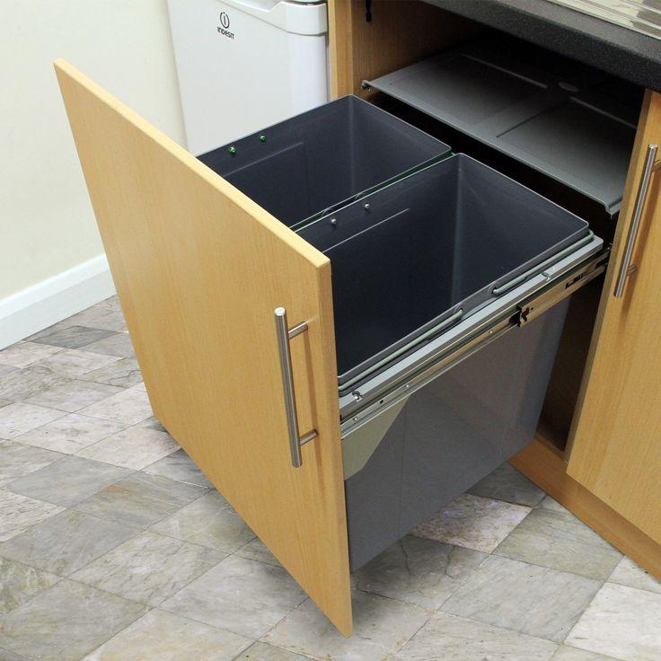 Die besten 25+ integrierte Küchen Mülleimer Ideen auf Pinterest
