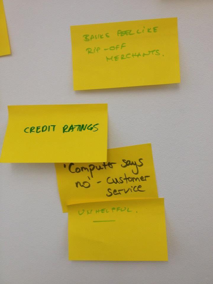 "Holvi's Build a Bank   London 2013 - ""Computer says no"" - problems with banking. #Holvi #FinTech #FutureOfBanking"