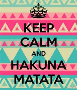 """Every time that I"" "" Pumba! Not in front of the kid"" "" Oh sorry. "" "" Hakuna Matata"""
