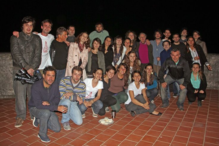 Ranciere junto a quienes hacemos la Facultad Libre , en el marco de su visita a #rosario en el año 2012.  #Ranciere