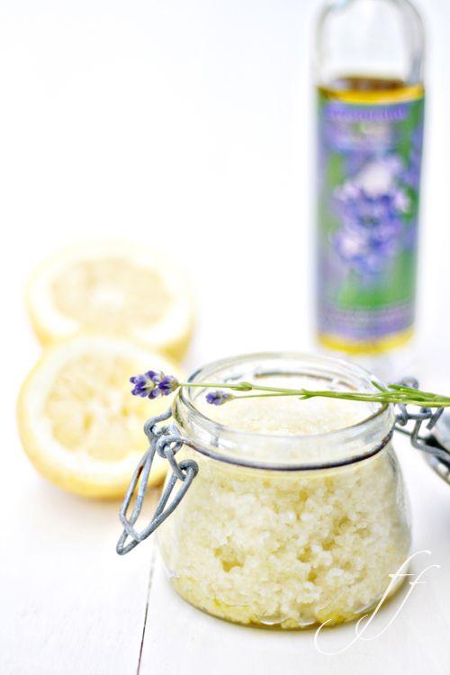 Scrub limone e lavanda