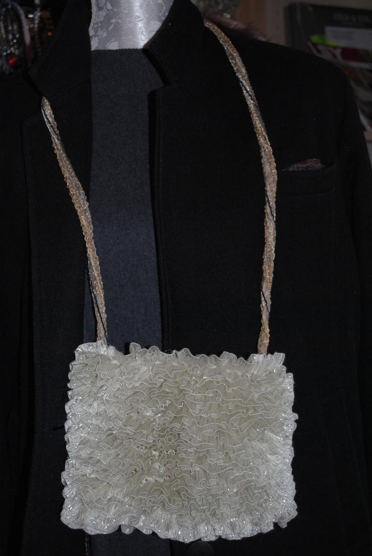 A little ruffle bag