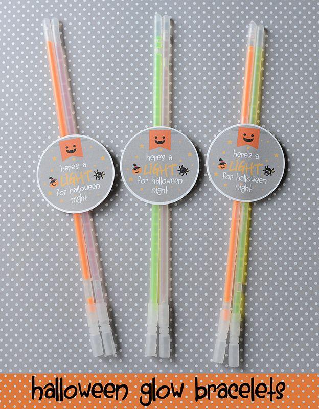 Halloween Glow Bracelets