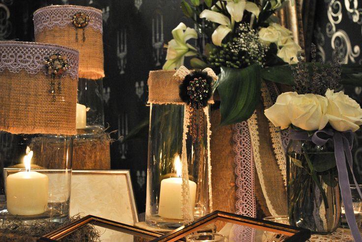 Chic διακόσμηση γάμου με άρωμα λεβάντας